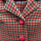 1960's 'Space Age Look' custom-made 3 piece Women's Plaid Suit by Franklin Simon New York!
