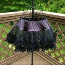 Intimate Attitudes Women's Sexy Plus Size Black Lace Petticoat!