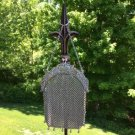 ANTIQUE STERLING SILVER HALLMARKED CHATELAINE PURSE - LATE 1800's!