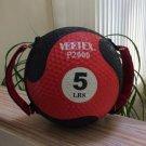 Vertex P2000 - 5 Pound Medicine Ball With Handles / Straps!