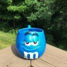 Mars M&M's BLUE Character Figural (Sculpted) Mug - 1997!