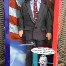 "Talking Presidents George H. W. Bush Talking 12"" Doll with 15 Sound-Bite Quotes - WORKS GREAT!"