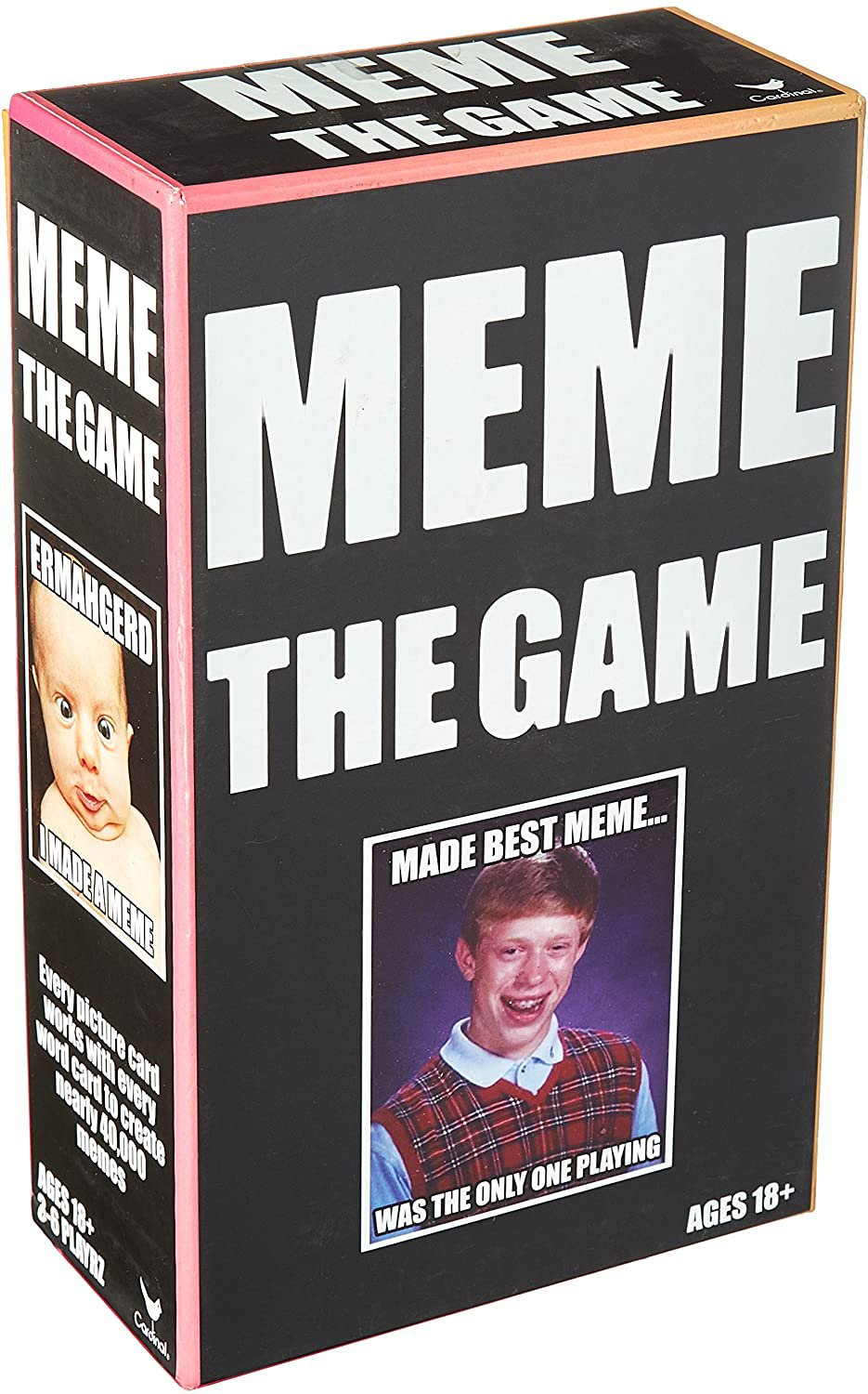 Meme The Game - Adult Humor Game - For ages 18 - 100 years!