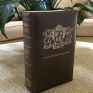 COMMANDS OF CHRIST - Character Bookshelf Series 2 - Faux Leather Library Style Clamshell Case Game!