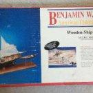 Model Shipways MS2109 Benjamin Latham The American Fishing Schooner Kit - 1994!