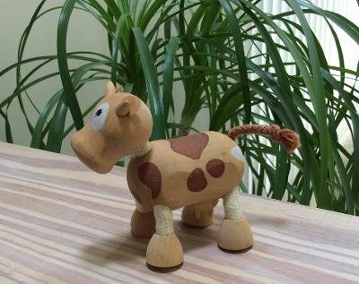 Farm Anamalz - Cow - Organic Maple Wood and Textile!