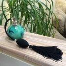 Vintage Murano Art Glass Perfume Atomizer with Tassel - Signed!