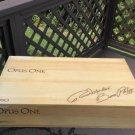 1990 OPUS ONE Robert Mondavi Baron Philippe Wooden 6 Bottle Wine Crate Box!