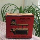 Vintage Hand Sewing Machine, 1940s Modern Decor made Japan in Original box!