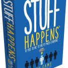 STUFF HAPPENS Card Game Goliath Games 2+ Players Ages 13+!