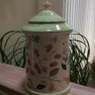 Tracy Porter 'Evelyn' Hand Painted Large Canister & Lid - French Country Decor!