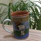 Peanuts - Snoopy 'REEL 'EM IN 14 ounce Heavy Ceramic Coffee Mug!