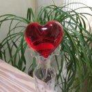 Red Heart Light Up Bottle Stopper!