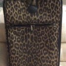RICARDO Beverly Hills Safari Rover Leopard Tapestry 2 COMPARTMENT SUITER WHEELABOARD Suitcase #3822!