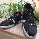 Osiris Women's NYC 83 Low Black Stars White Skate Shoes - Size 8.5!