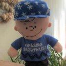 "Peanuts Charlie Brown 20"" Porch Greeter - 'Chasing Snowflakes'!"