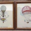 'Mr. Cocking's Parachute, Phil., 1850' & 'Descent near Philadelphia, Phil., 1850' Far Gallery!