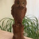 """Carved Sculpted Barn Owl - 13"""" Tall - Signed E.P.B.!"""