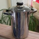 Oneida 'Immaculate' Tall 18/10  Stainless Steel Spaghetti Pot with Mesh Strainer!