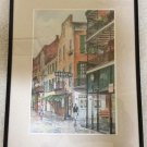 The Old Absinthe House Bar Print - Bourbon Street French Quarter - Knut Ken Engelhardt - Framed!