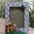 Disney Winnie the Pooh, Tigger & Piglet 3D Tabletop Photo Frame for 4x6 Picture!