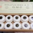 Vintage Embroidery Thread D.M.C Dollfus-Mieg & Cie Cotton French Mulhouse Lille - WHITE!