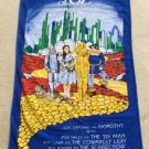 Vintage The Wizard Of Oz Beach Bath Towel Dorothy Tin Man Lion Scarecrow - 1988!