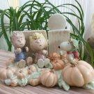 LENOX CLASSICS PEANUTS SNOOPY The Great Pumpkin Patch Figurine!