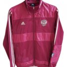 Adidas P41075 Russia RFU Souvenir Soccer Track Top Zip Jacket - Men's Medium!