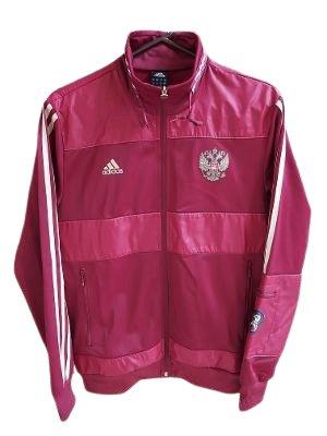 Adidas P41075 Russia RFU Souvenir Soccer Track Top Zip Jacket - Men's Medium!