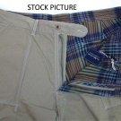 Polo Ralph Lauren Flat Front Cotton Shorts Reversible Plaid Twill - Size 42T - Legendary quality!