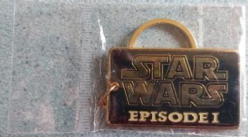 Star Wars Episode I Enameled Metal Keychain by Applause - 1999 Lucasfilm!