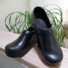 Sanita 'Professional Smooth' Closed Clogs in Black - Size 37 - 6.5!