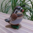 1989 Hallmark Clip On Christmas Ornament Baby Partridge Bird - Adorable!