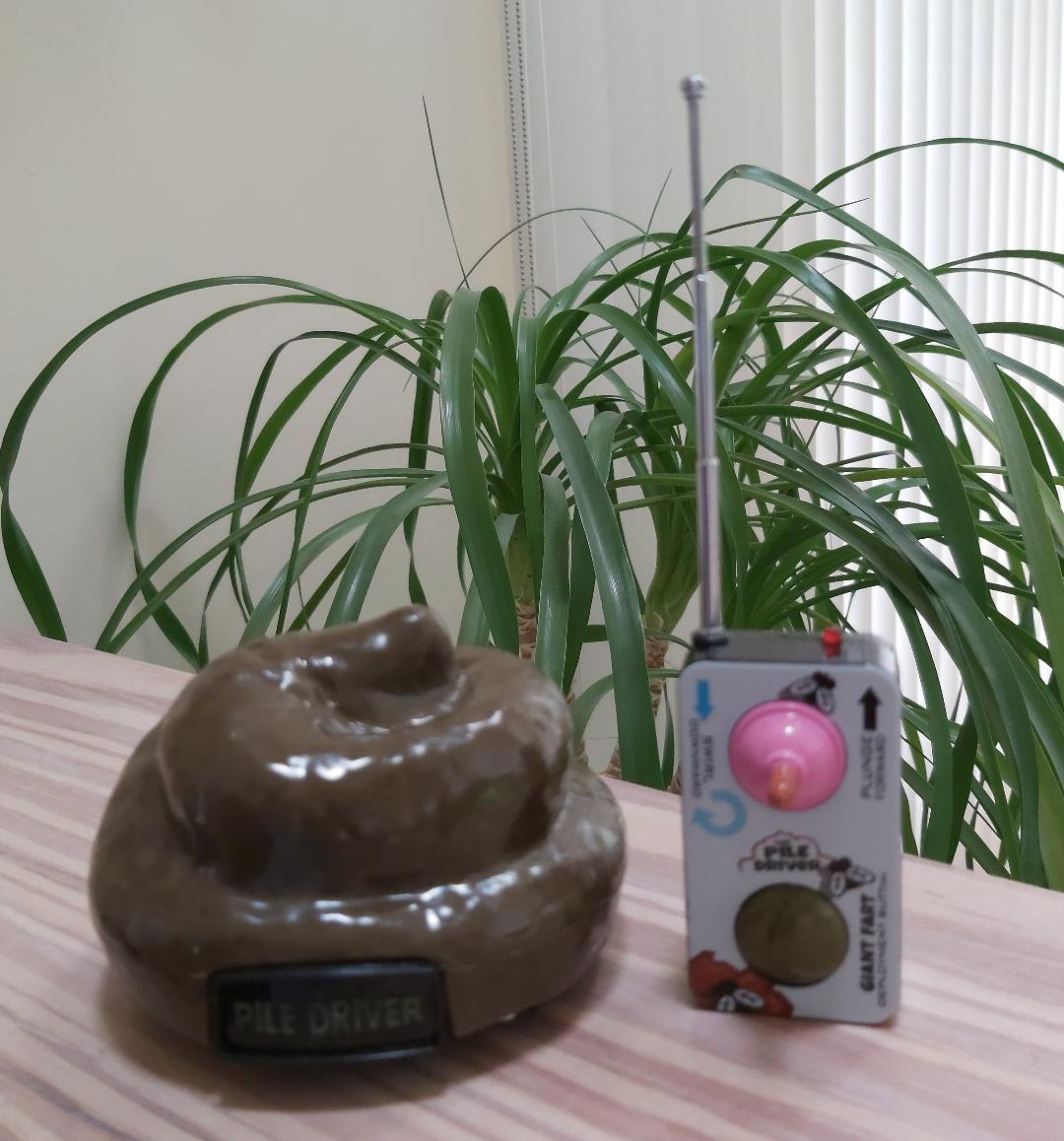 Pile Driver Remote Control Poop Car With Spinning and Farting Action!