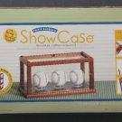 Style Studio Triple Baseball Memorabilia Display ShowCase - Solid Hardwood & Acrylic #1 - NIB!