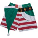 Mossimo Christmas Themed Boxer and Cap Set - Men's Medium 32/34 - NWT!