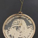 Vintage 'Niagara on the Lake' Wine Country Glass Ornament by Just Christmas  Collector's Series!