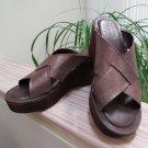 Kork-Ease LANA Vacchetta Bay Brown (Iridescent) - Comfort Sandal - Size 10!