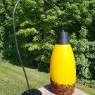Speckled Art Glass Elongated Dome (12 inch) Pendant Light Fixture!