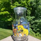 Vintage Sesame Street Glass Juice, Kool Aid, Iced Tea Jar wih Lid from the 1970s!
