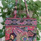 Vera Bradley Floral Paisley Tote Bag / Purse / Carry All!