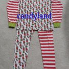 Women's Dr. Seuss Grinch Christmas Print Pajamas - 100% Organic Cotton - Size M - NWOT!