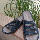 Alegria Fio-140 Fiona Printed Triple Strap Sandals - Size 40 - EXCELLENT!