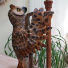 River's Edge Products Owl Paper Towel Holder!