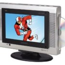 Audiovox FPE1078 7.8-Inch Flat Panel 16:9 LCD Television/ DVD Player Combo, SD/MMC Card Slot Reader!