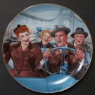 I Love Lucy Hamilton Collection Plate 'California, Here We Come!' by Jim Kritz - 1989!