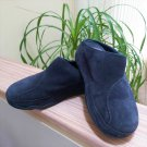Fit Flop Gogh Blue Suede Slip On Walking Clogs Shoes #113-097 - Size 8!
