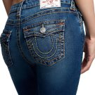True Religion Joey Flare World Tour Womens Jeans - Size 31 - MADE IN USA!
