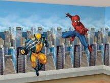 Spiderman Wolverine Mural Party Supplies